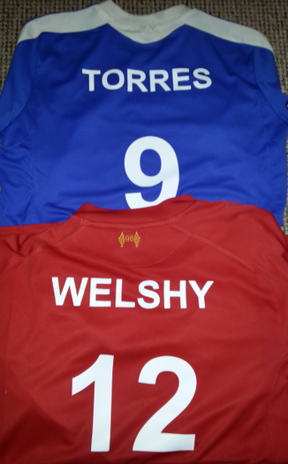 Personalised Football Shirts