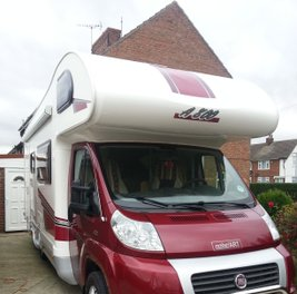 Fiat Ducato Campervan with new graphics