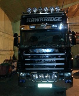 Graham Hawkridge Scania R480