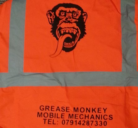 Grease Monkey High Viz Jacket