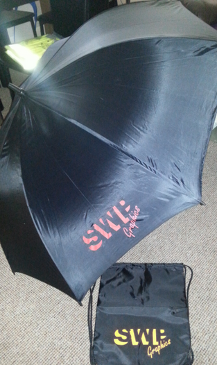 SWP UmbrellDra and awstring Bag